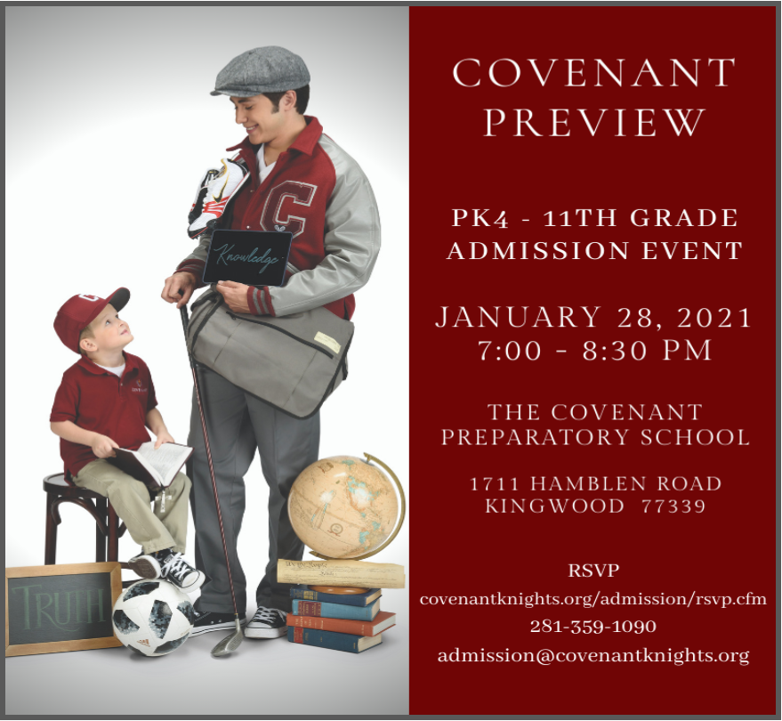 Covenant Preview Night