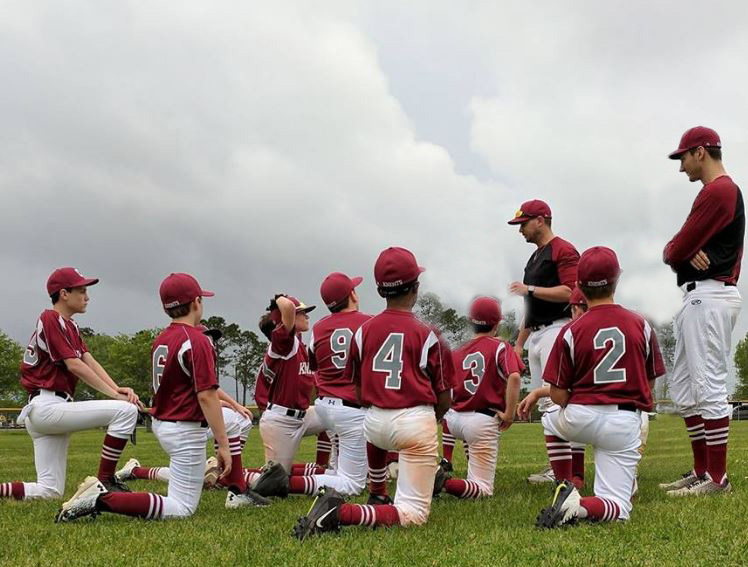 Image of baseball students
