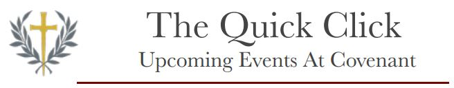 The Quick Click Newsletter