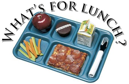 Image of lunch tray