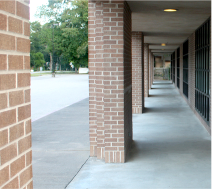 Image of a walkway to your future